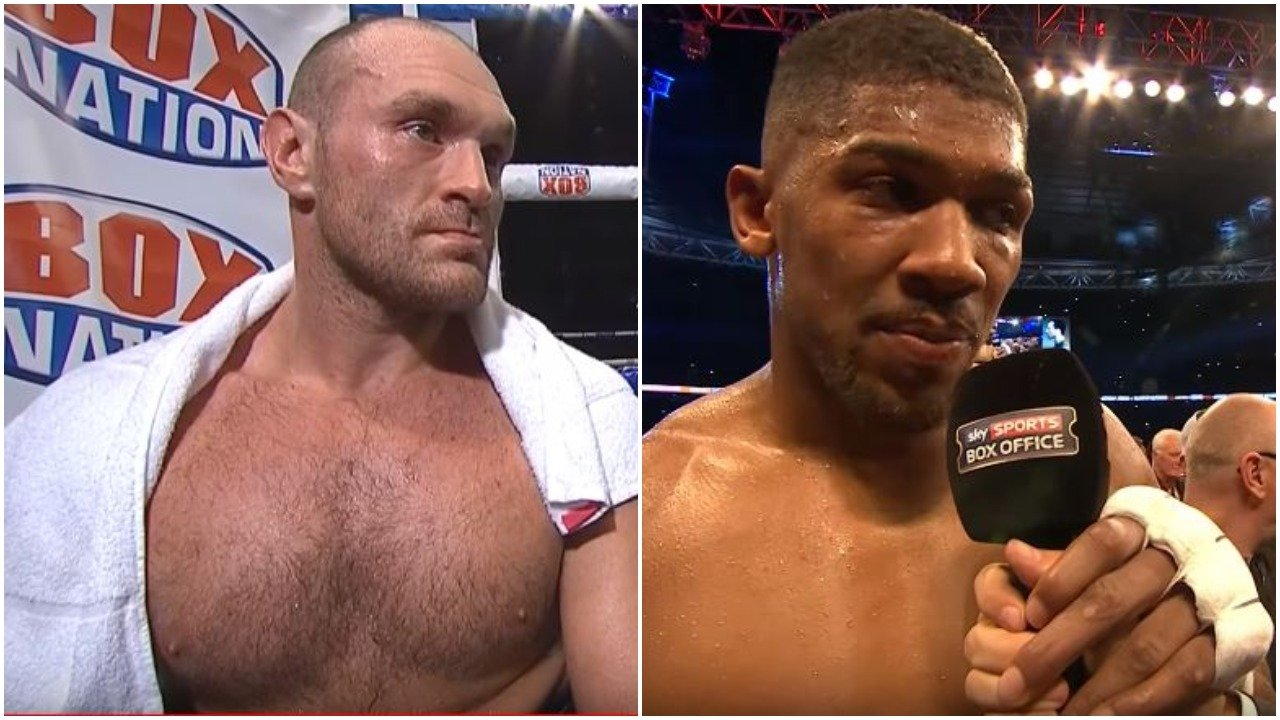 Tyson Fury Blasts Anthony Joshua As A Fraud