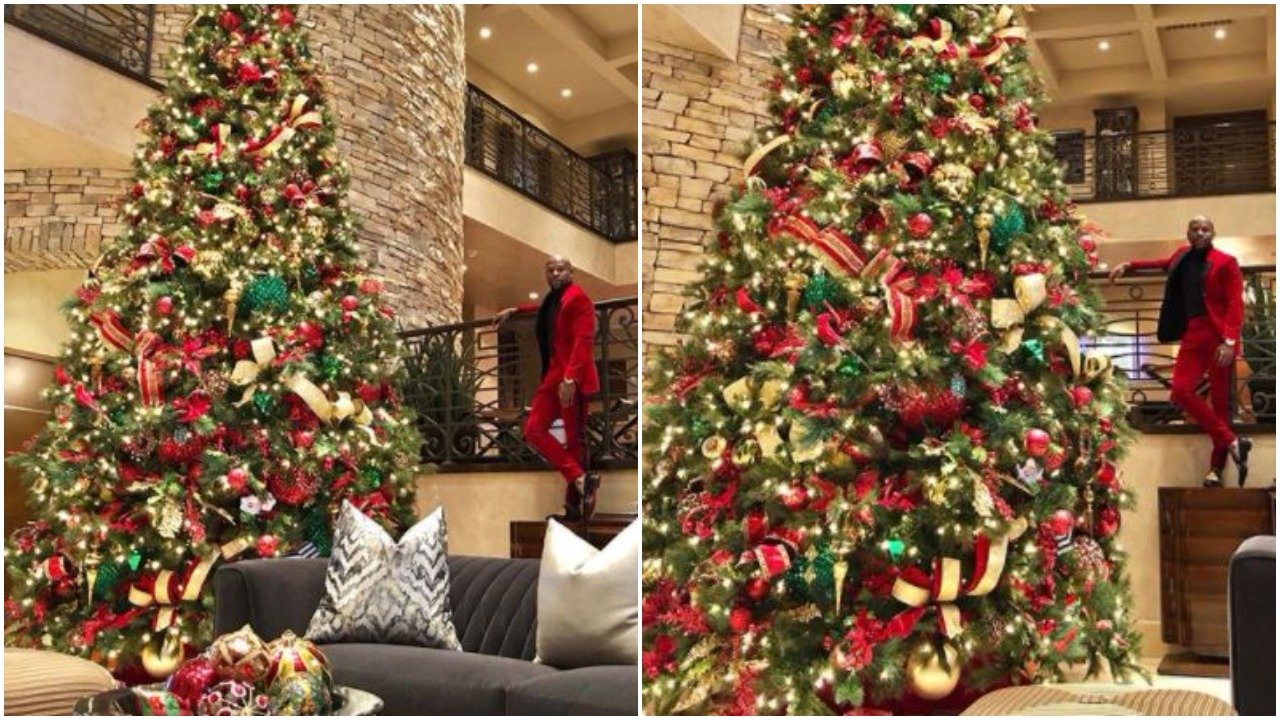 Floyd Mayweather Shows Off Outlandish Christmas