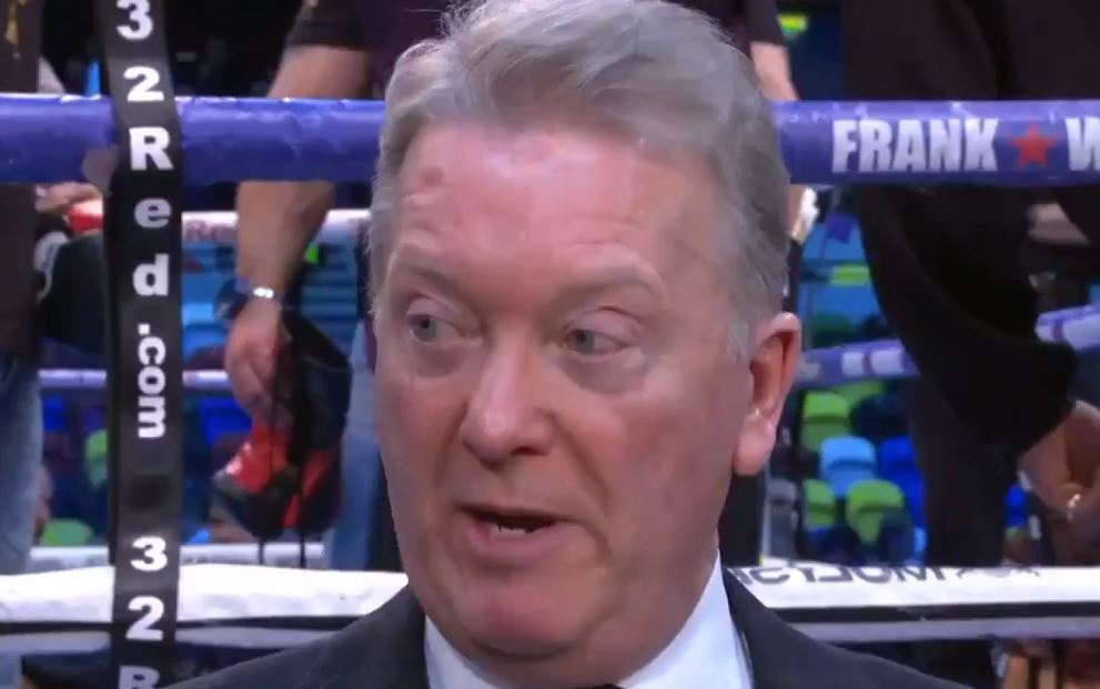 Frank Warren Reveals Wilder vs Fury Announcement Date and Locations For Press Tour