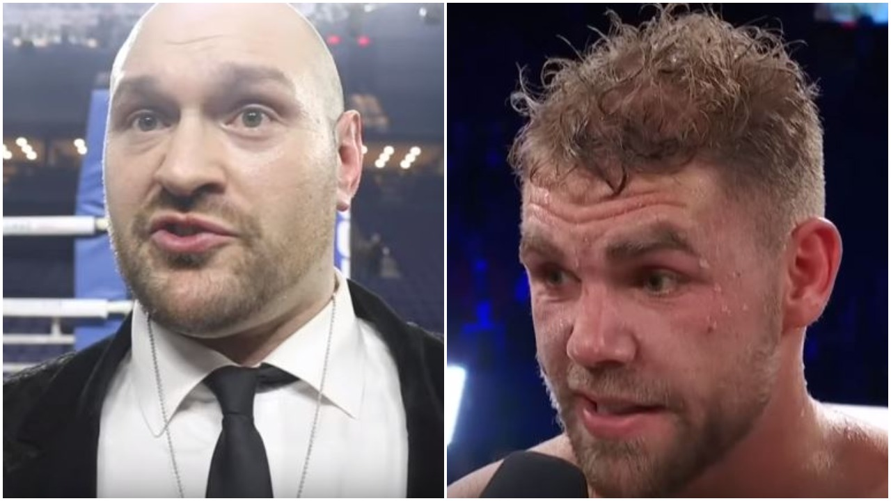 Fury Reacts To Saunders Win
