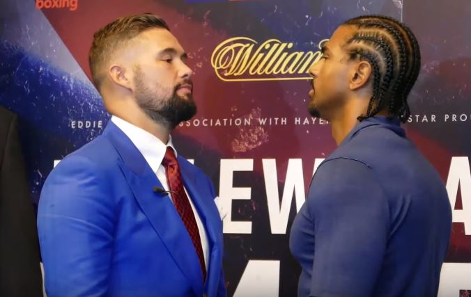 Haye vs Bellew 2 Date