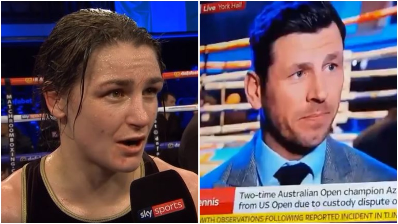Katie Taylor Irish Nationality