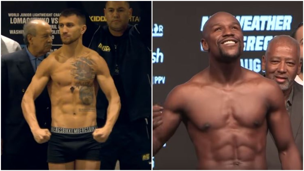 Mayweather Claims Lomachenko Has Two Weaknesses