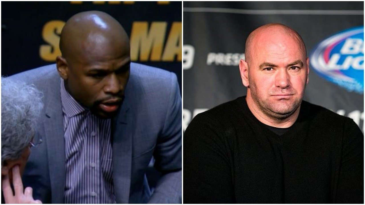 Dana White Floyd's Not Fighting in UFC ... Meeting About Boxing!