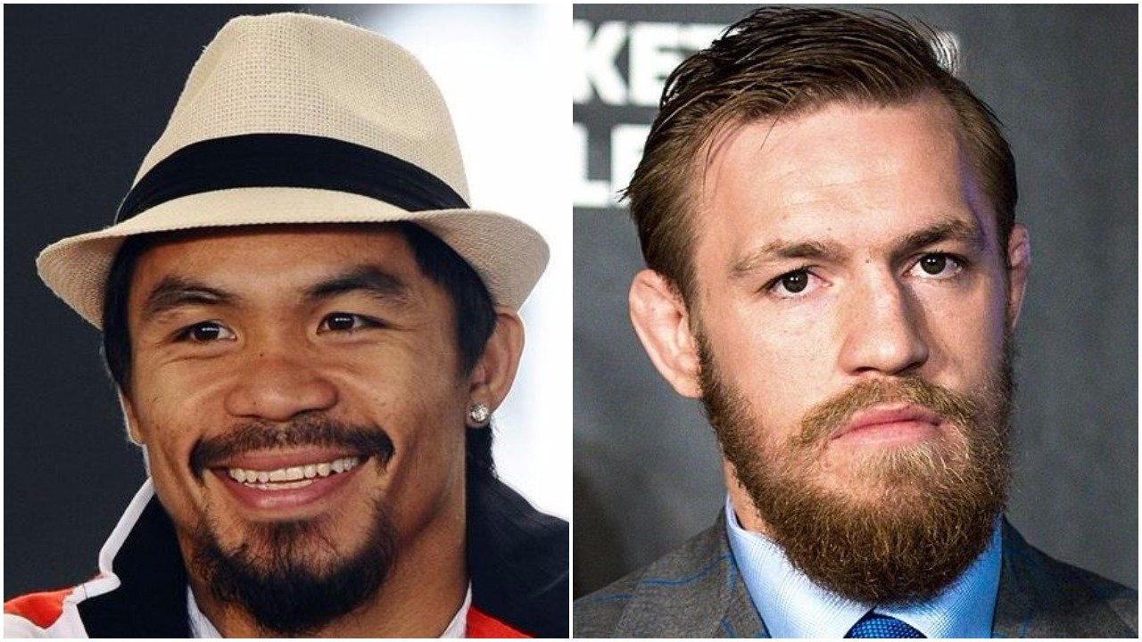 Manny Pacquiao Reaches Out To Conor McGregor About 2018 Boxing Match