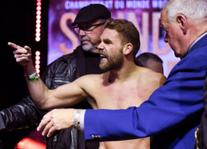 What Time Is Saunders Fighting Tonight
