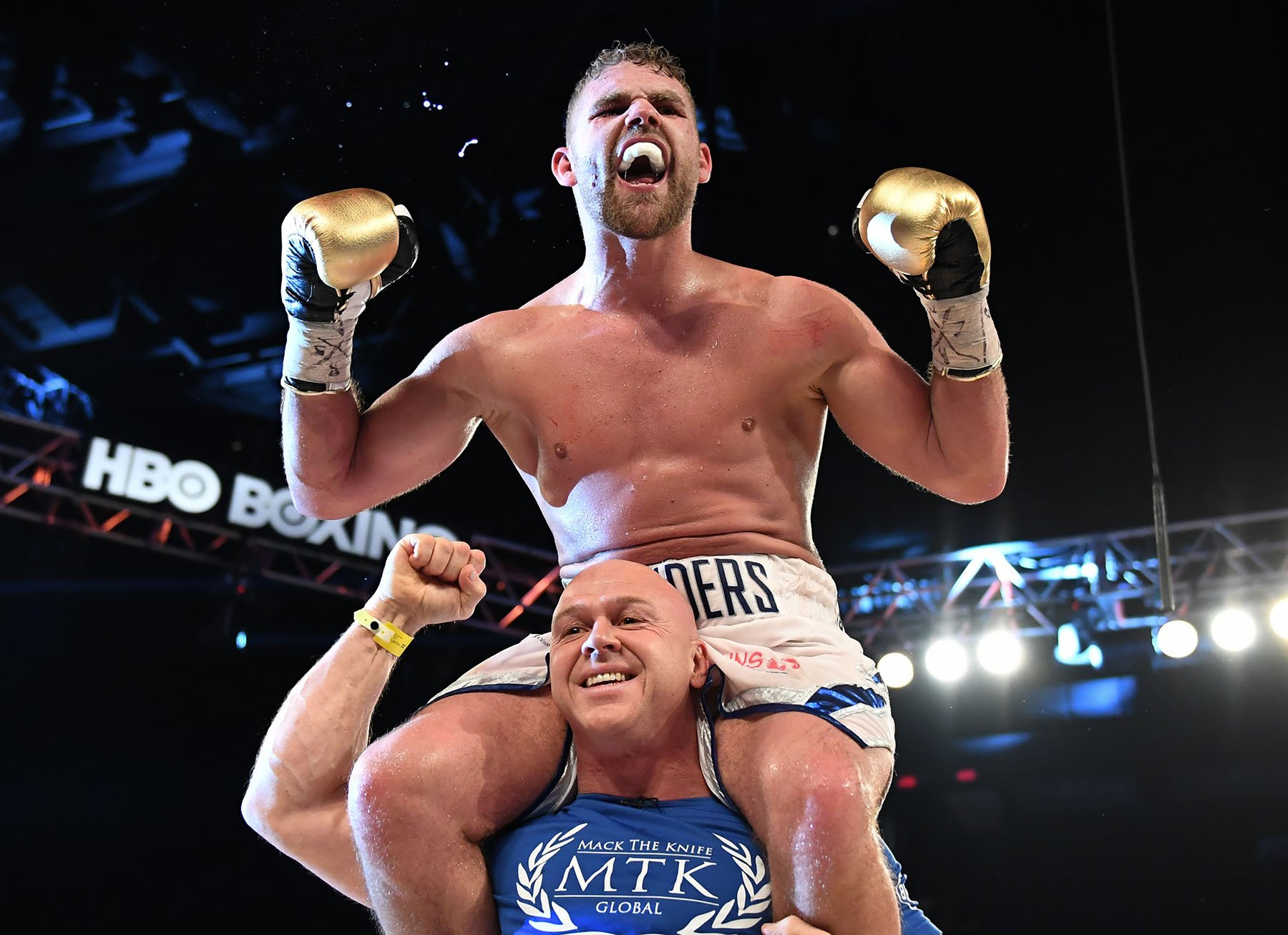 Billy Joe Saunders Calls Out GGG After Dominating Lemieux