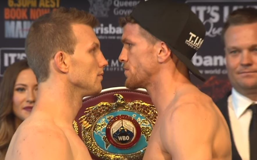 Horn vs Corcoran World Title