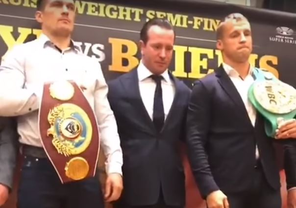 Alexander Usyk vs Mairis Briedis