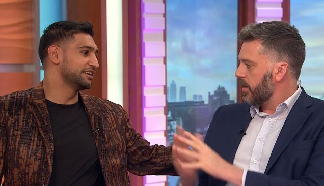 Confronts Amir Khan After Jungle