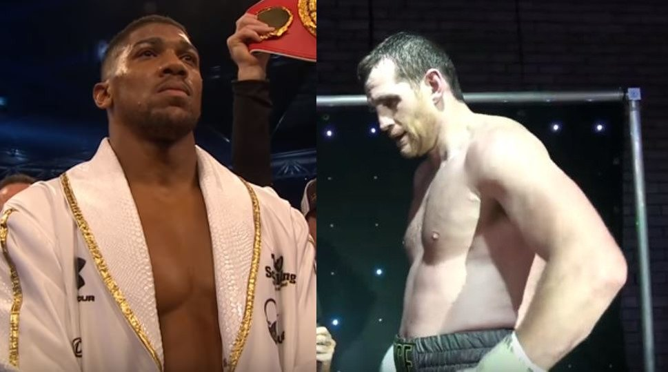 Anthony Joshua Admits To Infamous Sparring Incident With David Price