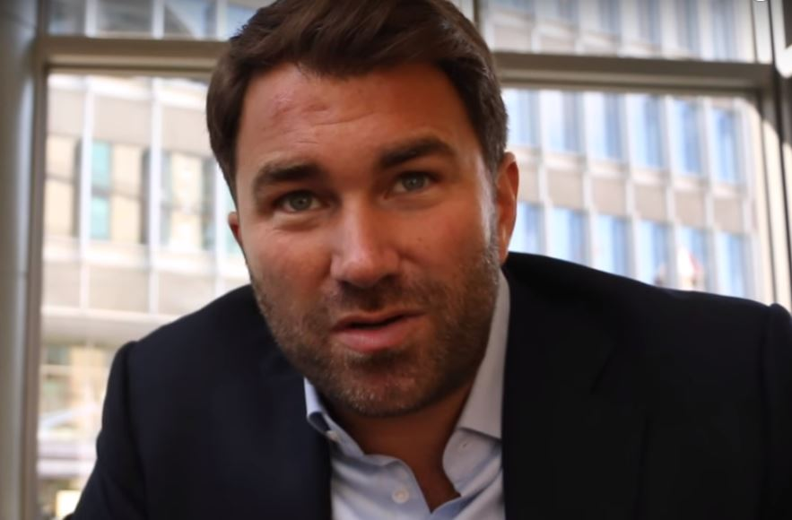 Eddie Hearn Makes