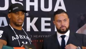 Joseph Parker Promises To Smile At Anthony Joshua's Punches