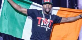 Mayweather Declares Himself As The New King Of Ireland