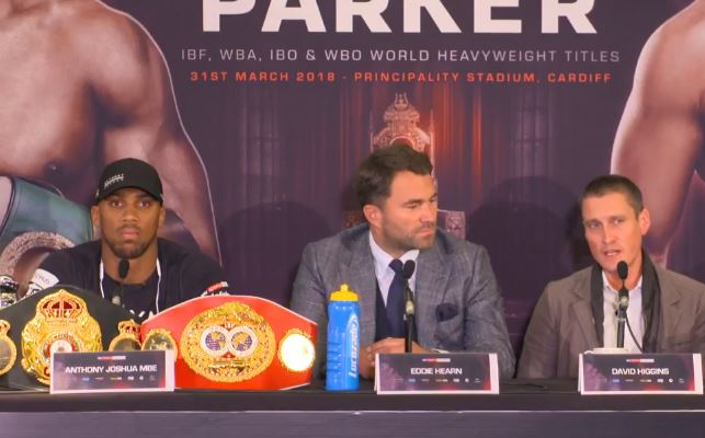 Parker Promoter Attacks English