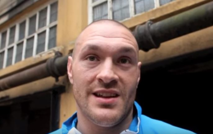 Ricky Hatton's Son Posts Photo Of Tyson Fury