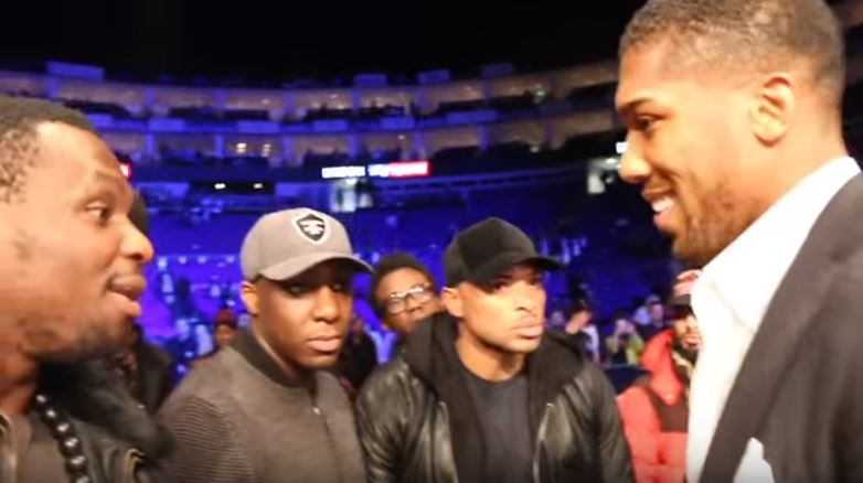 Anthony Joshua Sends Dillian Whyte
