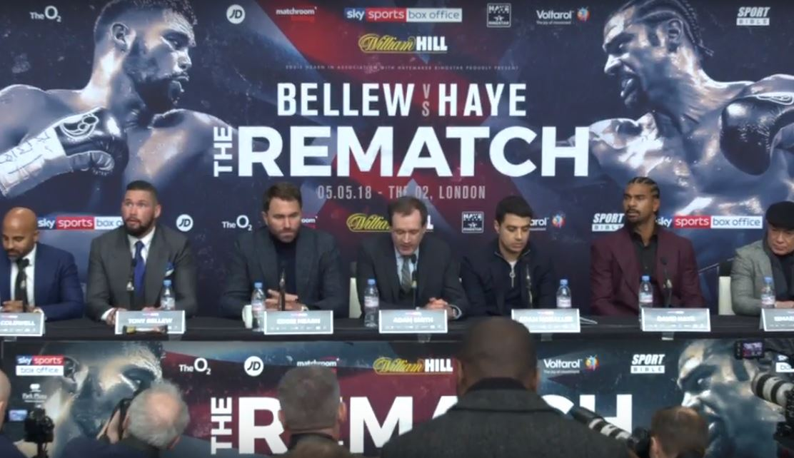 Bellew Brings Up What Haye