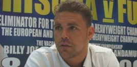 Billy Joe Saunders Gives His Groves vs Eubank Prediction