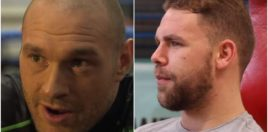 Billy Joe Saunders and Tyson Fury