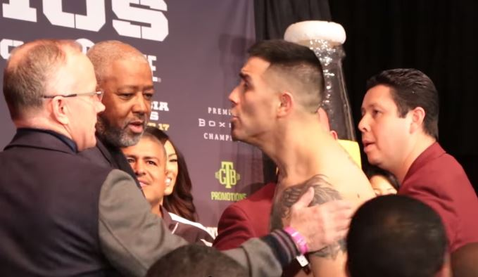 Danny Garcia and Brandon Rios Weigh In