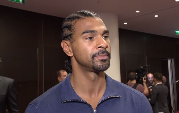 David Haye Has Big News