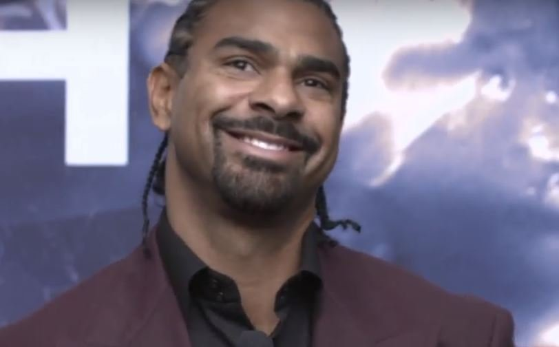 David Haye I Love You Tony Bellew