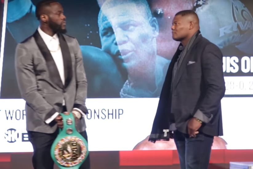 Wilder wants 'big fight' with Joshua