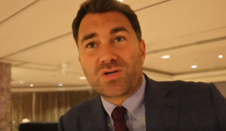 Eddie Hearn Catches Fan