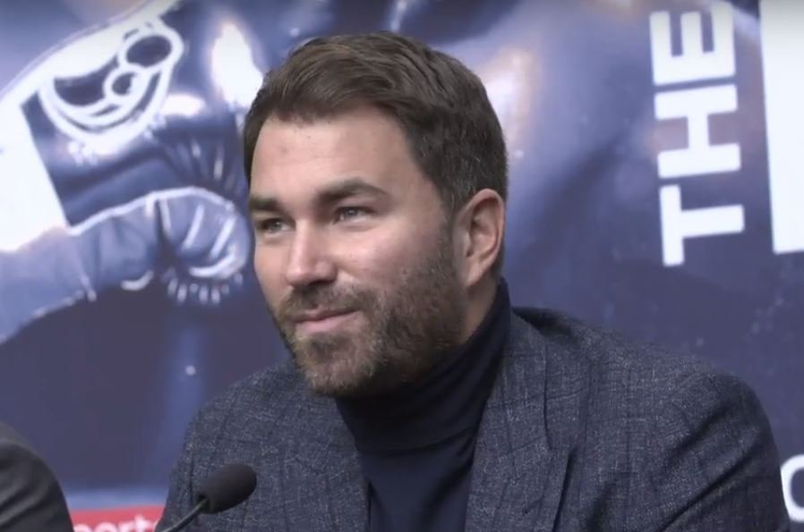 Eddie Hearn Signs 2016 Olympic Gold Medallist