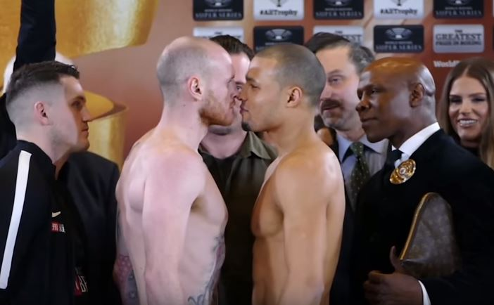 Chris Eubank Jr believes defeat today would end George Groves' career