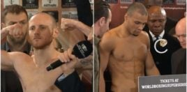Groves vs Chris Eubank Jr Weigh In Results