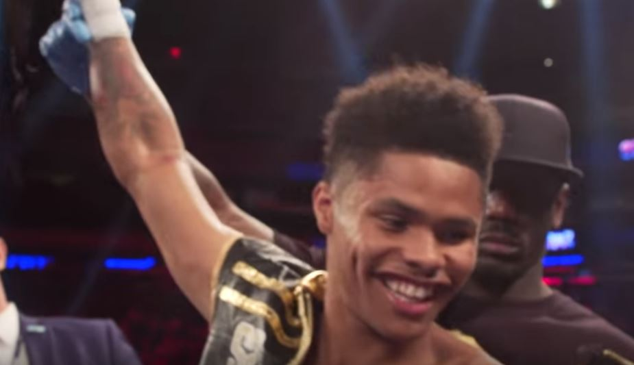 On Shakur Stevenson