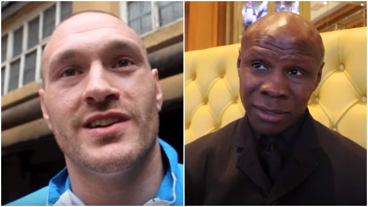 Tyson Fury Reacts To Eubank's