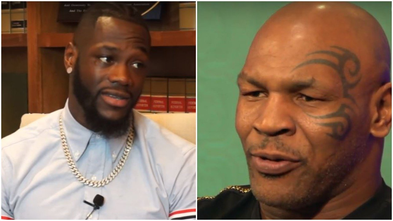 Tyson Reacts To Wilder