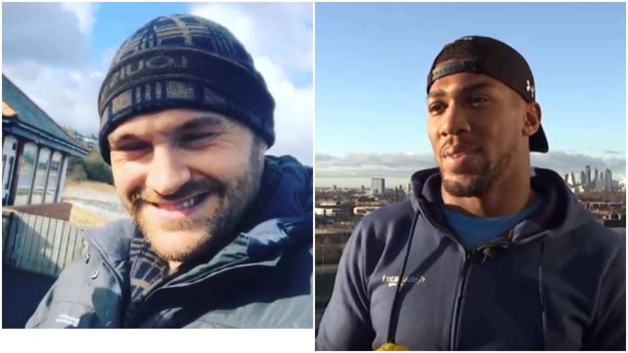 Tyson Fury Challenges Anthony Joshua