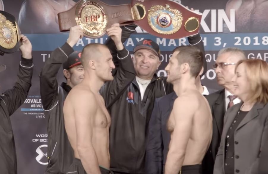 What Time Is Kovalev Fight