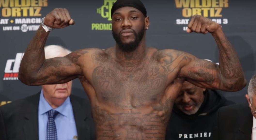 Anthony Joshua does not have confidence to fight me - Deontay Wilder