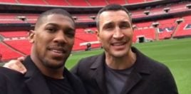 Joshua and Klitschko Reunite