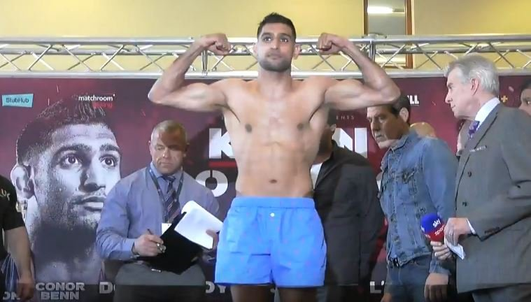 Amir Khan's Reaction After Canelo Beat GGG Has Not Gone Down Well