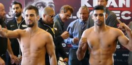 What Time Is Amir Khan Fight