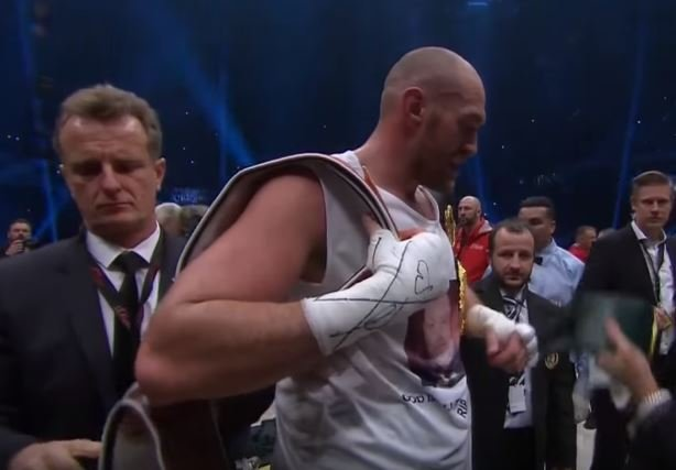 Tyson Fury Fight Time vs Pianeta