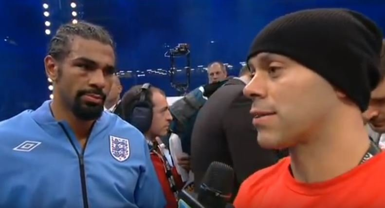 adam booth on david haye retiring