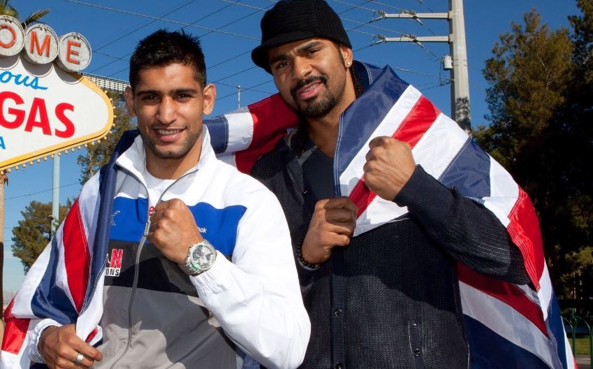 amir khan sends david haye