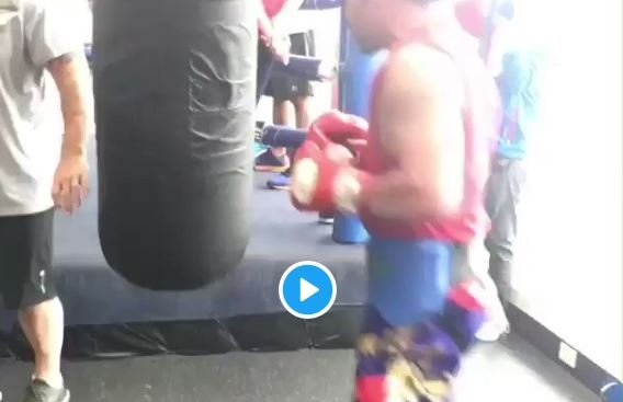 pacquiao leaks footage
