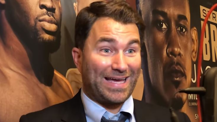 Eddie Hearn Unbelievably Confident Wilder Will Beat Fury