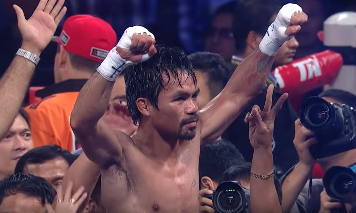 Pacquiao Said Straight After Beating Matthysse