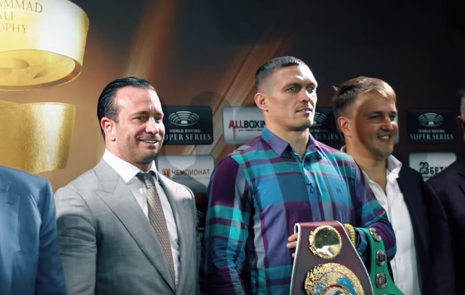 Usyk vs Gassiev Time