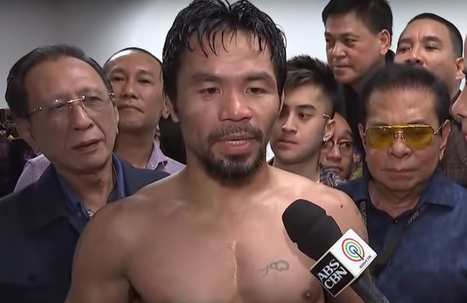 pacquiao on what