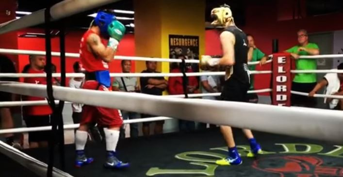 Kambosos On Difference Sparring Pacquiao Before Matthysse and Horn Fight
